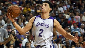 2017 Las Vegas Summer League - Philadelphia 76ers v Los Angeles Lakers