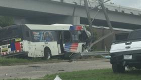 Houston Metro Bus Accident
