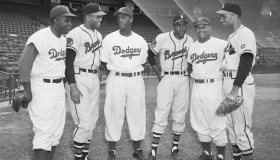 Negro League Stars in Major League Uniforms