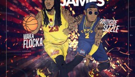 Lebron Flocka James 4 Mixtape Cover