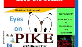 2017 Eyes on Pike: Community Literacy Fair