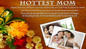 Hottest Mom Contest Flyer - Hot 96.3