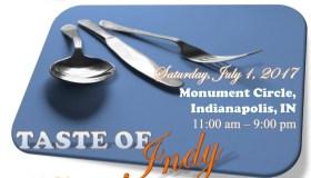 Taste of Indy 2017 Flyer