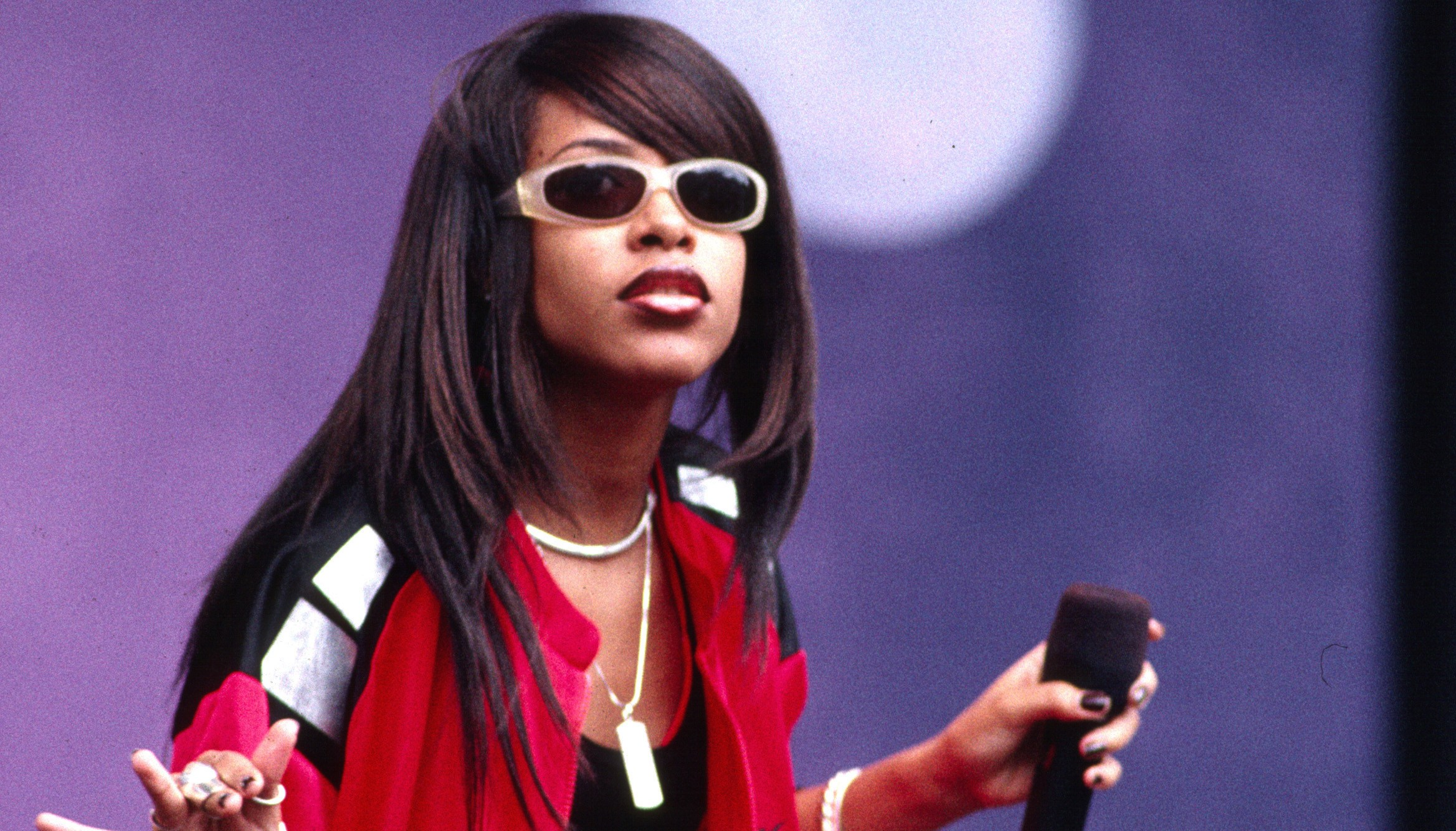 Aaliyah In Concert
