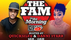 The Fam In The Morning Temp Graphic