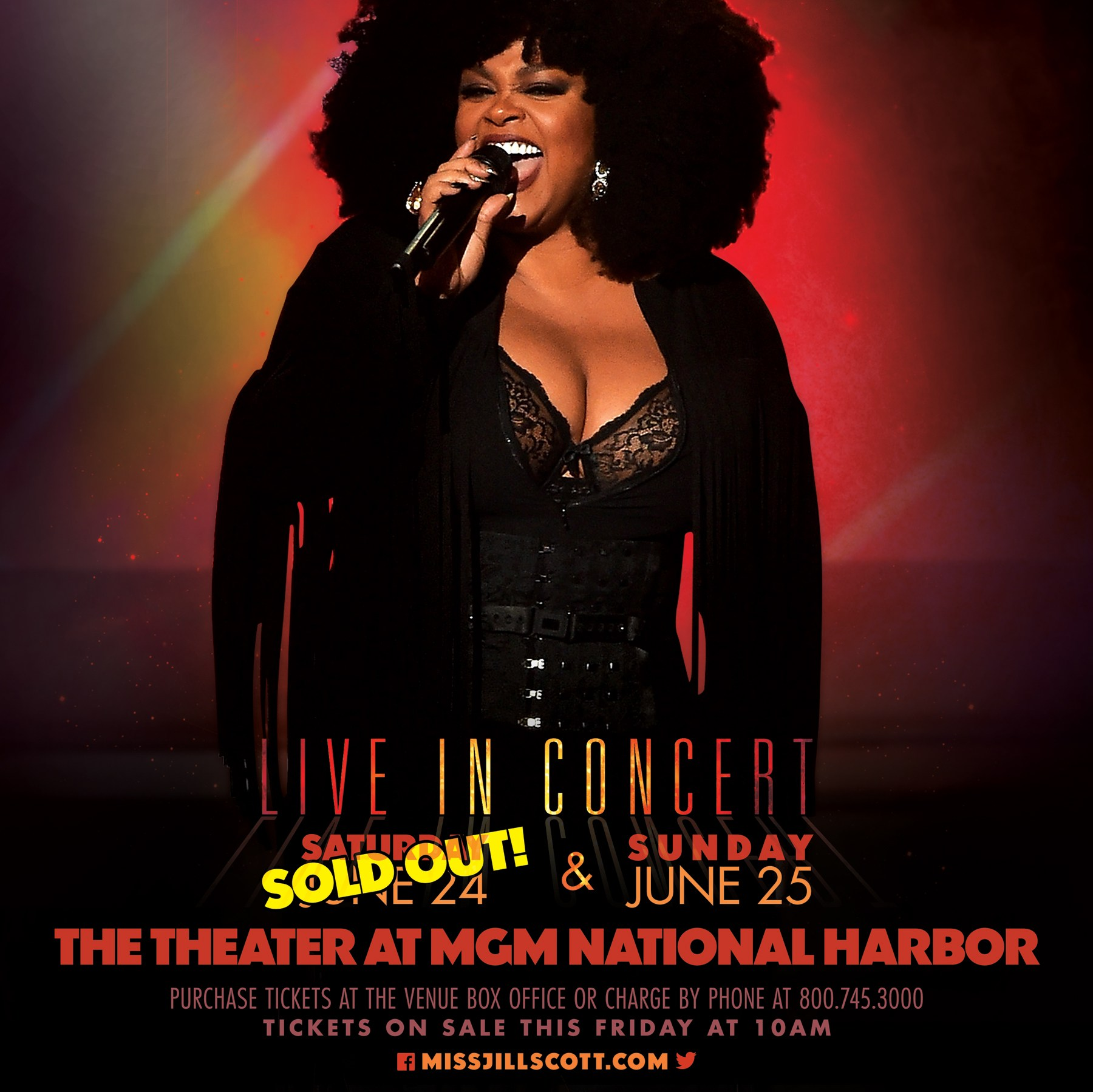 Jill Scott Live At The MGM National Harbor