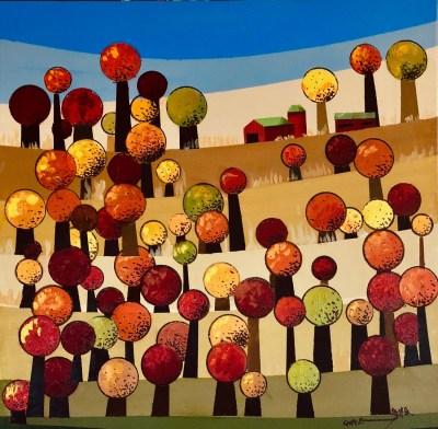 Fall Trees No. 3