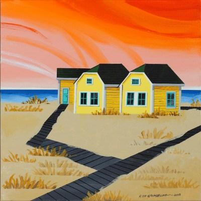 """<span>Two Yellow<br/>Beach Houses  </span> <span class=""""reddot""""></span>"""