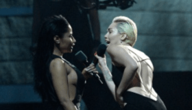 Miley and Nicki