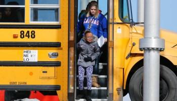 School bus crash in Wichita
