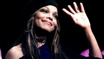 Janet Jackson at Radio Station