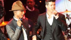 Pharrell Williams and Robin Thicke
