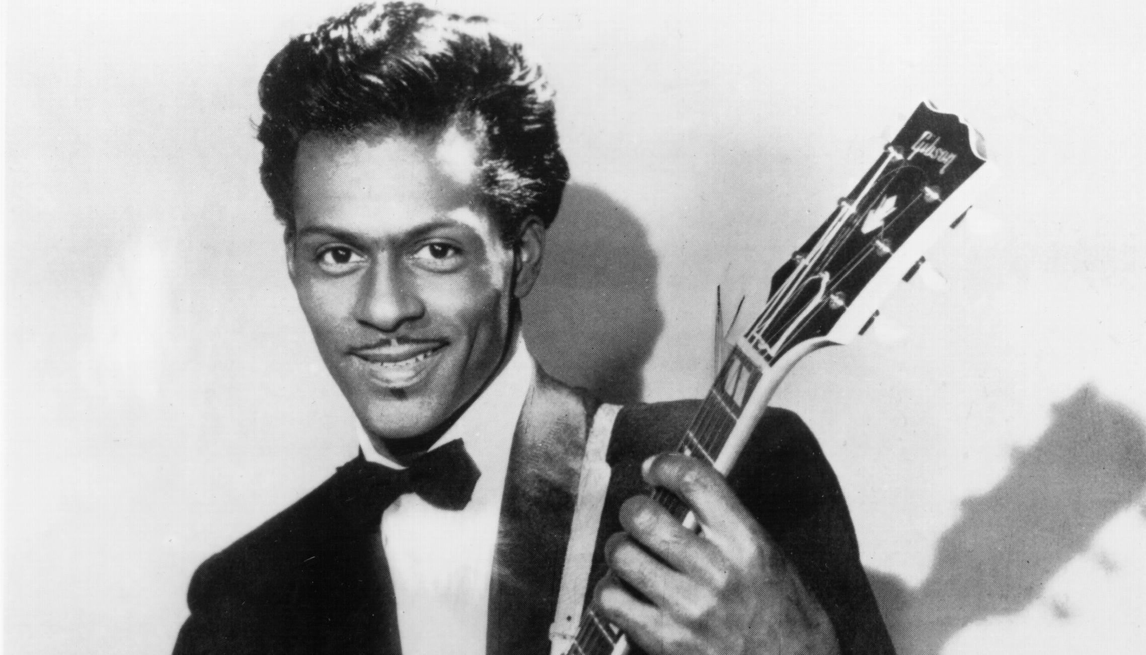 Chuck Berry Portrait