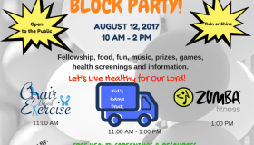 Health Families Block Party