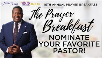 15th Annual Prayer Breakfast Graphic