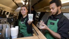 Starbucks employees