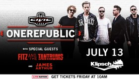 OneRepublic Indy Flyer