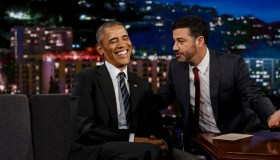 Jimmy Kimmel Live! Hosts President Obama