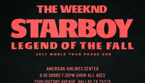 The Weekend Starboy Tour
