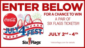 Coke x Six Flags Ticket Giveaway