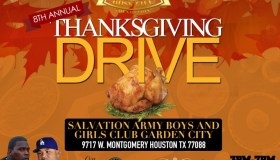 8th Annual BossLife Thanksgiving Drive
