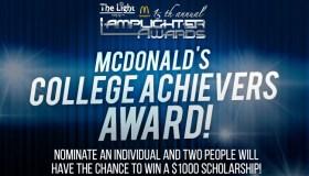 mcdonalds lamplighter award DL