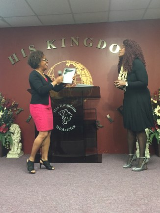 April Pastor of the Month Janice F. Thomas