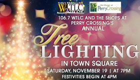 Shops at Perry Crossing's Annual Tree Lighting Event