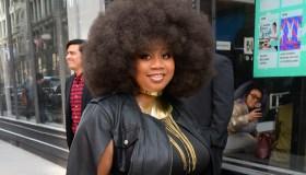 Celebrity Sightings in New York City - April 3, 2017