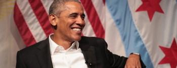 Former President Obama Speaks On Civic Engagement At The University Of Chicago