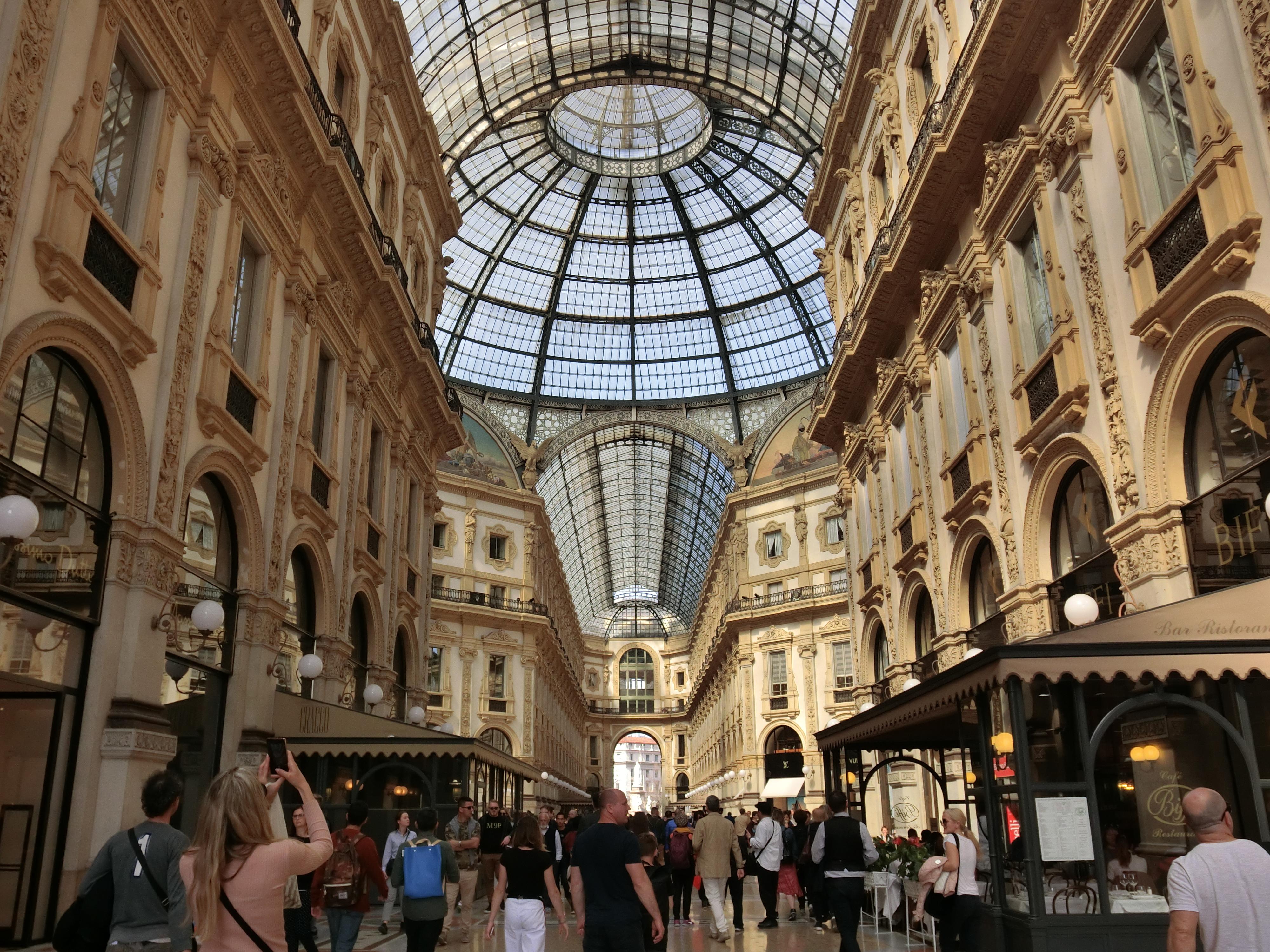 米蘭-義大利之旅的起點與終點2019 – Rong