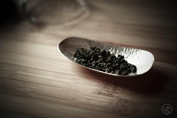 Trưng trà bạc thủ công TRB-03