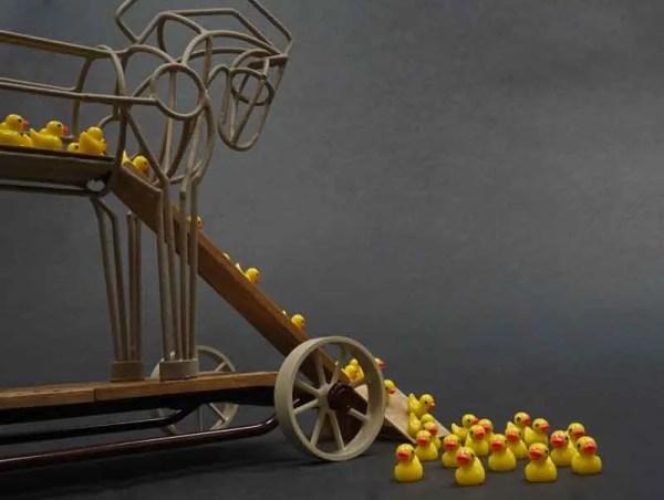 Trojan Duckie