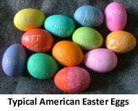 Typical American Easter Eggs