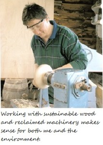 Roni Roberts wood turning