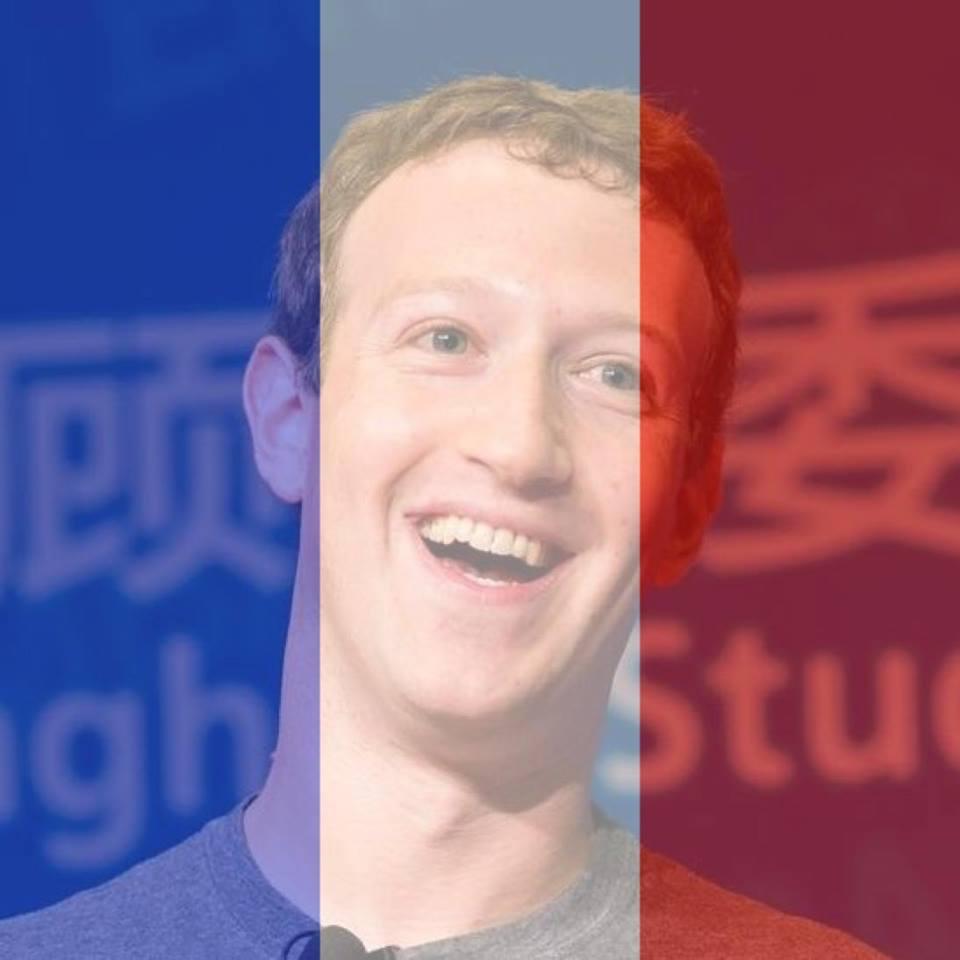 Facebook atentados en Francia