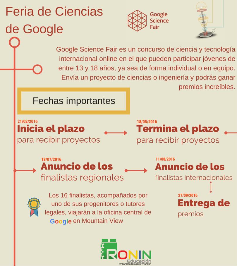 Feria Ciencias Google 2016