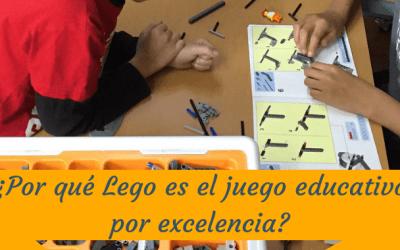¿Por qué Lego es el juego educativo por excelencia?