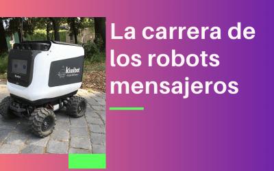 Video de robots mensajeros