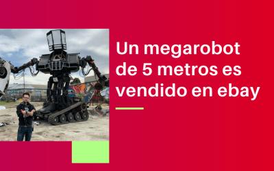Un megarobot de 5 metros es vendido en ebay