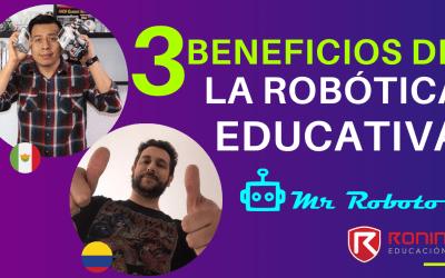 3 beneficios de la robótica educativa