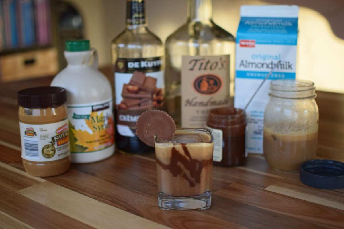 Peanut Butter Cup Cocktail - Ingredients