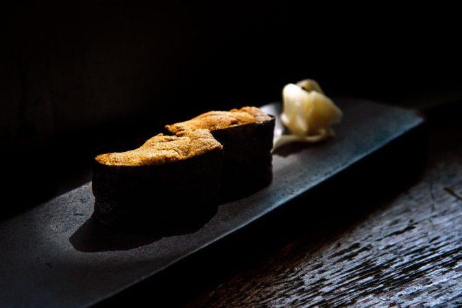 Fish row sushi