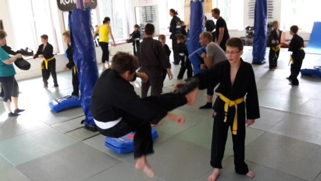 RoninZ Eltern-Kind-Training 22.07.2015 in RoninZ Kampfkunstschule