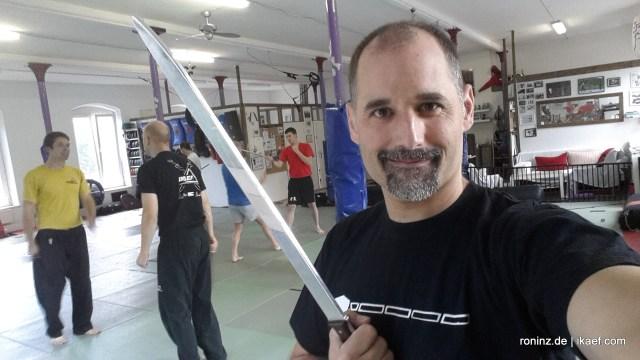 Panantukan meets Serrada 25.07.2015 in RoninZ Kampfkunstschule