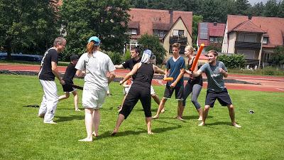 """Out in Herzi"" Panantukan und Burner Gladiators 09.07.2016 in Herzogenaurach"