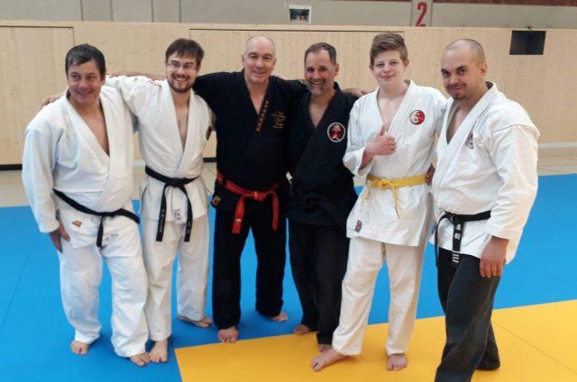 Jubilaeumslehrgang mit Hanshi Alain Sailly am 09.-10.06.2018 in Kirchheim