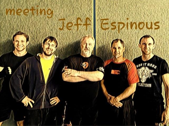 Jeff Espinous am 29.-30.09.2018 in Vaterstetten