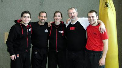 Punong Guro Jeff Espinous am 12.-13. Januar 2013 in Karlsruhe