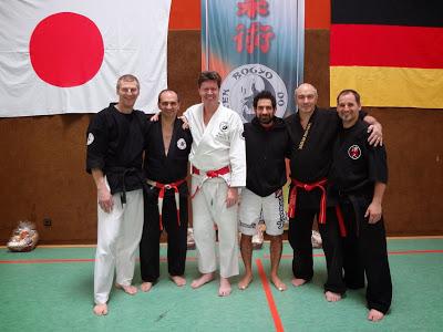 24. Internationaler Jiu Jitsu Lehrgang 08-09. Maerz 2014 in Otterbach